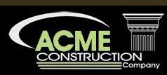 ACME CONSTRUCTION COMPANY